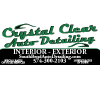 Crystal Clear Auto Detailing Banner Design