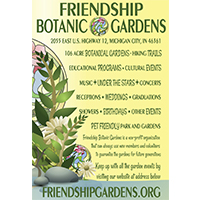 Friendship Botanic Gardens Advertisement Design