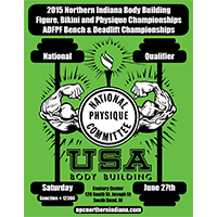 2015 NPC Northern IN Championships Flyer Design