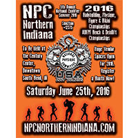 NPC Northern IN 2016 Event Flyer Graphic Design