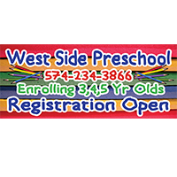 West Side Preschool Banner Design