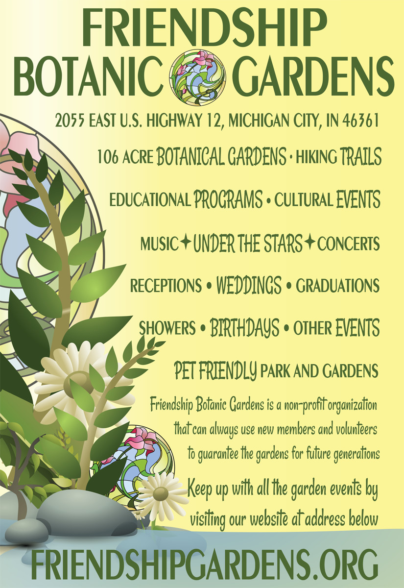 Merveilleux Friendship Botanic Gardens Advertisement Design. Elegant_flyer_design