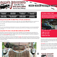 Adam's Junker's – Website