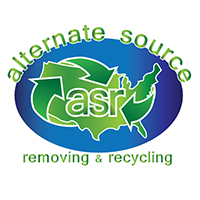 Alternate Source Recycling Logo Design