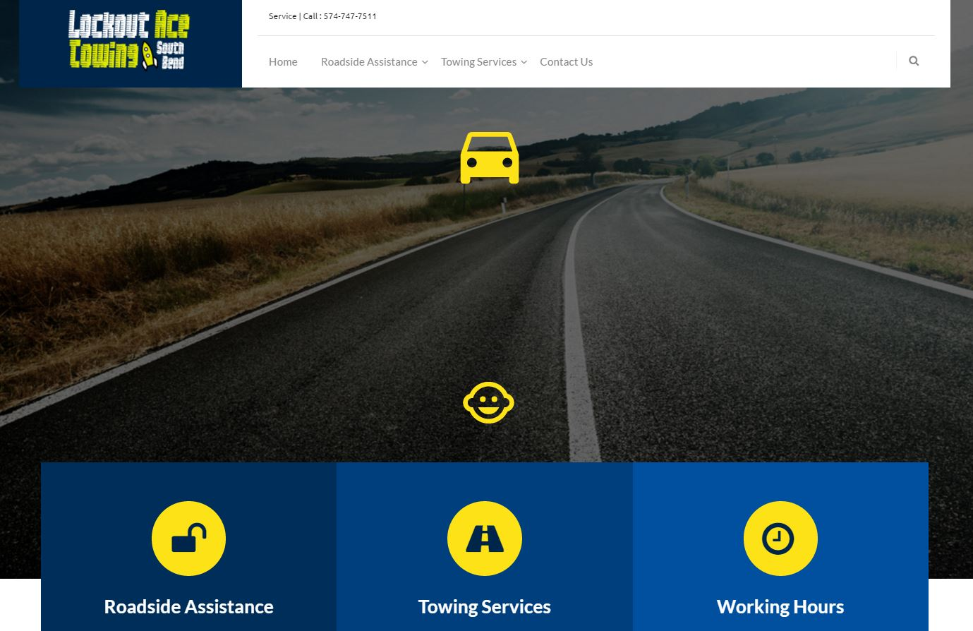 Lockout Ace Towing – Website