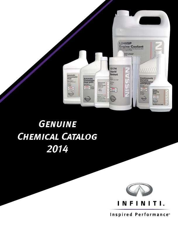 Infiniti Service Parts Catalog Design
