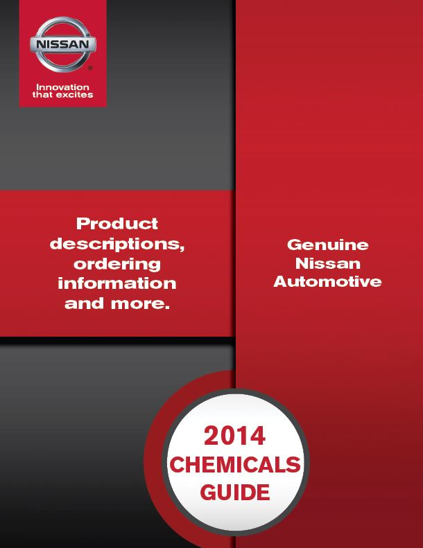 Nissan Service Parts Catalog Design