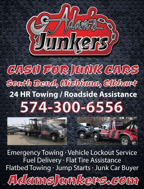 Junk Cars Flyer Design