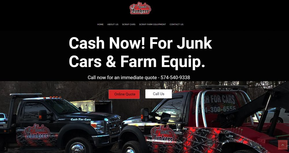 Adams Junkers Marshall County Web Design