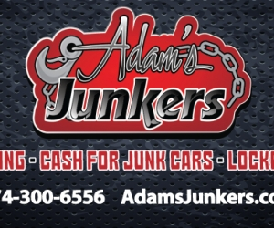 Adams Junkers Business Card Design