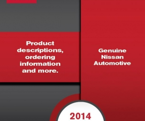 Nissan Service Parts Catalog Design